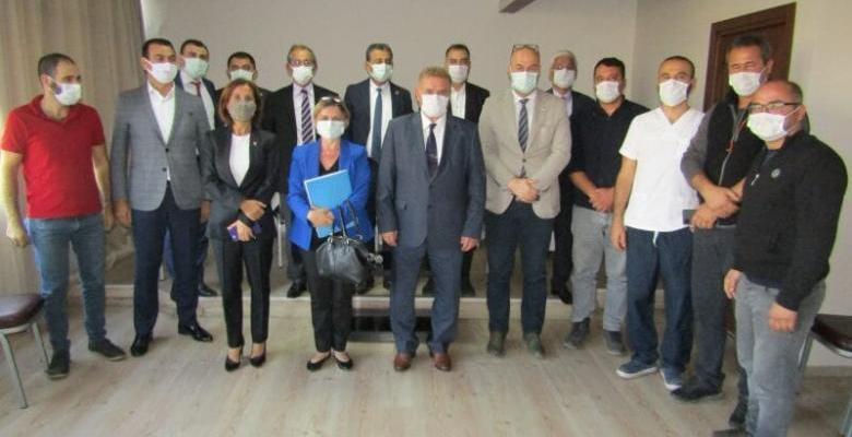 CHP'den Adana Veteriner Hekimleri Odası'na Önemli Ziyaret