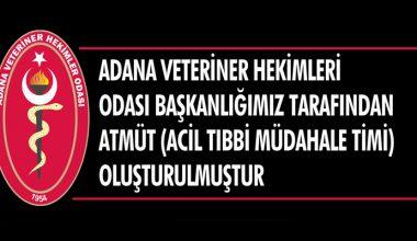 Adana VHO Tarafından ATMÜT (Acil Tıbbi Müdahale Timi Oluşturulmuştur)